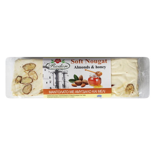 Picture of Soft Nougat with Almonds and Honey 70g