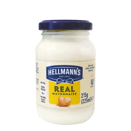 HELLMANNS MAYONNAISE 215g/225ml