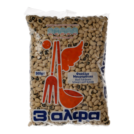 Picture of 3A Black Eye Beans 500g