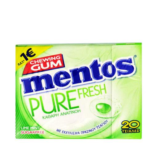 MENTOS GUM PURE FRESH LIME 30g
