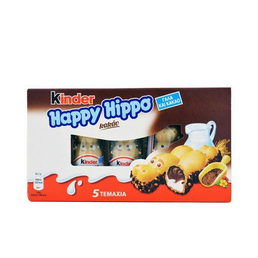 KINDER HAPPY HIPPO KAKAO 5TEM 103.5g