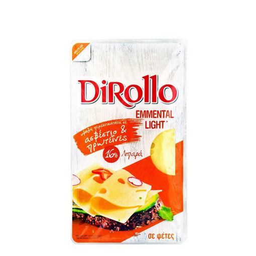 DIROLLO EMMENTAL LIGHT SLICES 175g