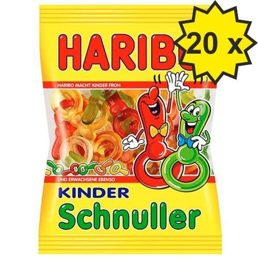 HARIBO SCHNULLER 200g