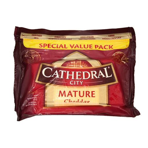 CATHEDRAL  MATURE CHEDDAR 350g