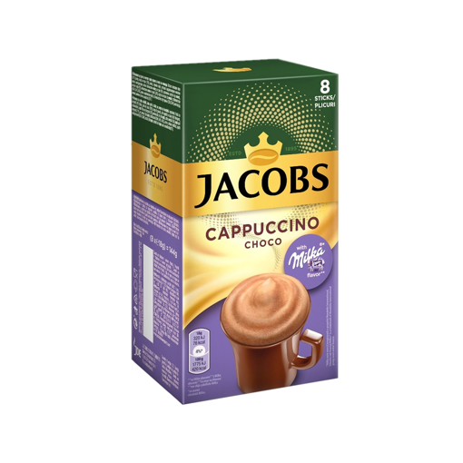 JACOBS CAPPUCCINO MILKA 144g