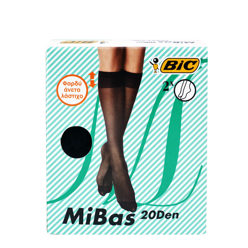 Picture of Bic MiBas 20Den Black