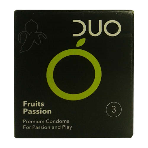 Picture of Duo Fruits Passion 3 Condoms