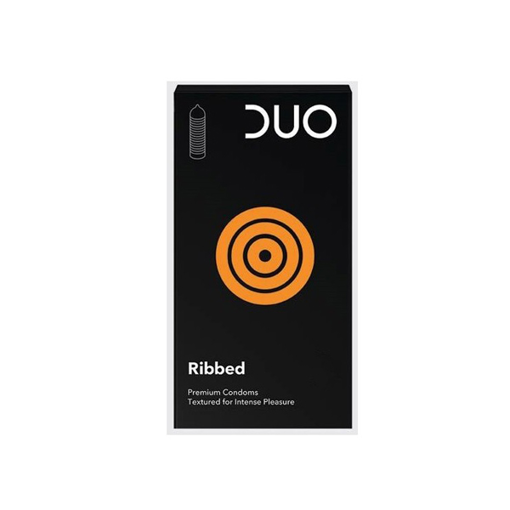 Picture of Duo Ribbed 3 Condoms
