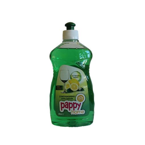 PAPPY HOME WASH UP LIQUID LEMON 500ml