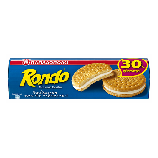 Π/Δ RONDO VANILLA 250g -0.30€