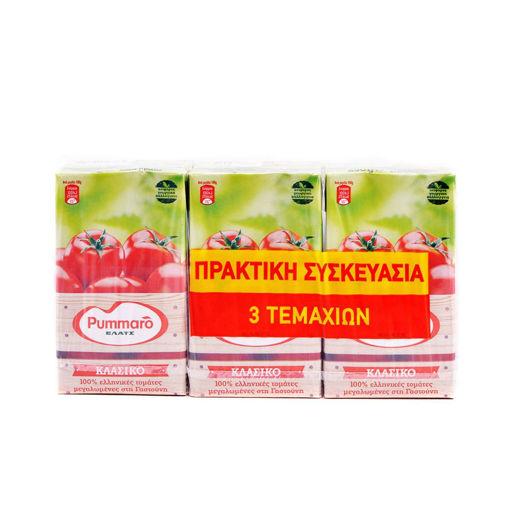 ΤΟΜΑΤ/ΜΟΣ PUMMARO ΚΛΑΣΙΚΟ 3Χ250g