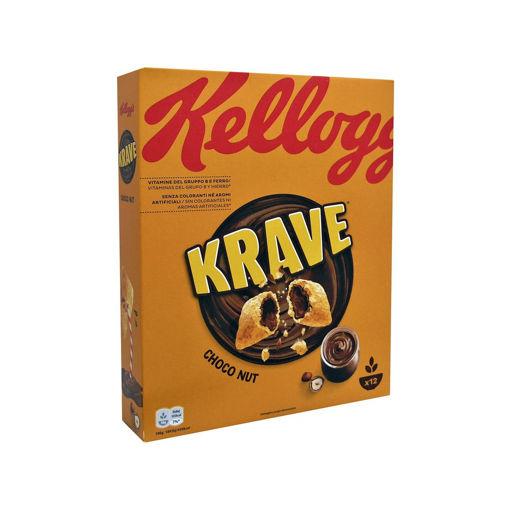 KELLOGGS CHOCO KRAVE NUT 375g