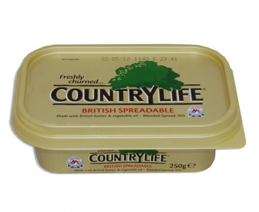 BUTTER/ΜARG.COUNTRY LIFE 250g