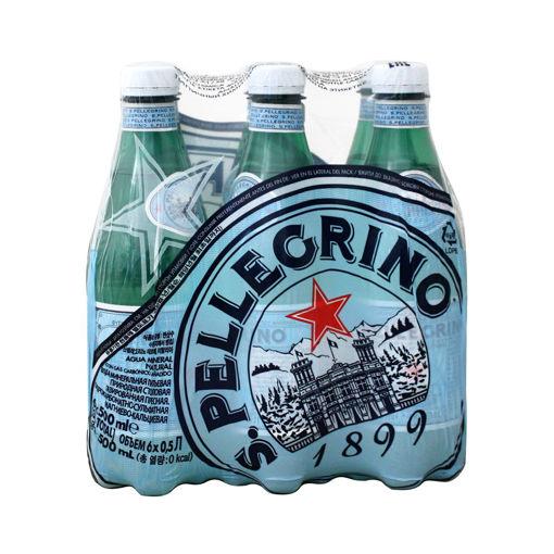 SAN PELLEGRINO SPARKLING WATER PET 6X500ml