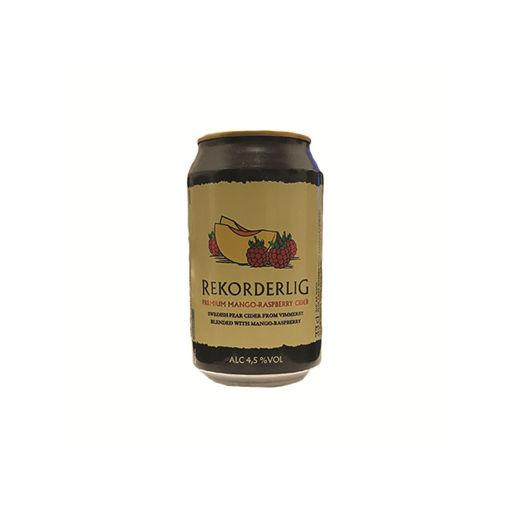 REKORDERLIG MANGO&RASPBERRY 330ml (24c)