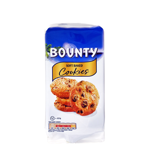 BOUNTY SOFT BAKE COOKIES 180g