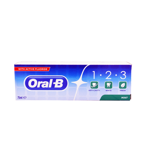 ORAL B 123 75ml