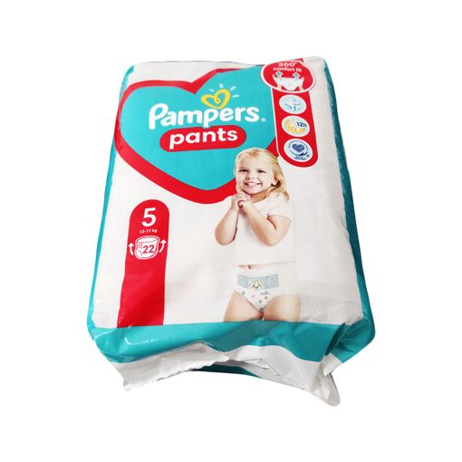 PAMPERS PANS BABY ΜΕΓ. 5 22pcs
