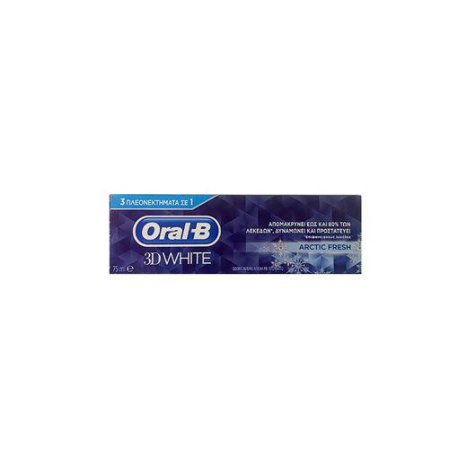 ORAL B 3D WHITE ARCTIC FRESH 75ml
